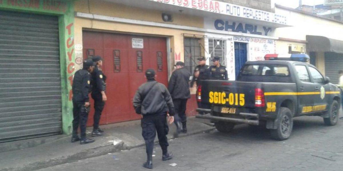 #OperaciónTurbo es realizada en busca de robacarros en la capital y Mixco