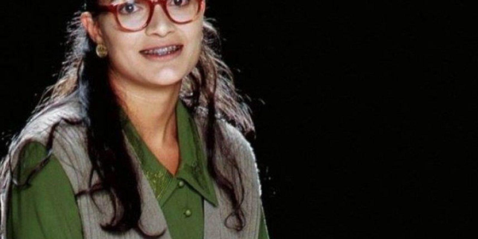 "Ana María Orozco. Así lucía como ""Beatriz Aurora Pinzón Solano"" en la telenovela ""Yo soy Betty, la fea"" Foto:Vía facebook.com/anamariaorozcofc"