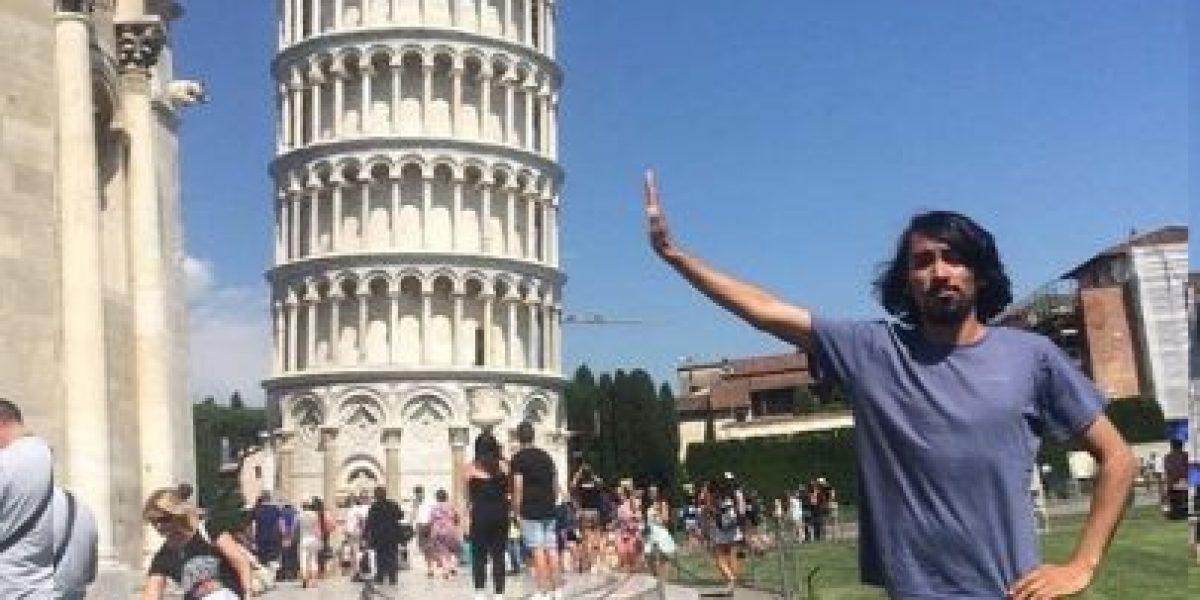 Turista pidió Photoshop en su foto y el resultado te divertirá