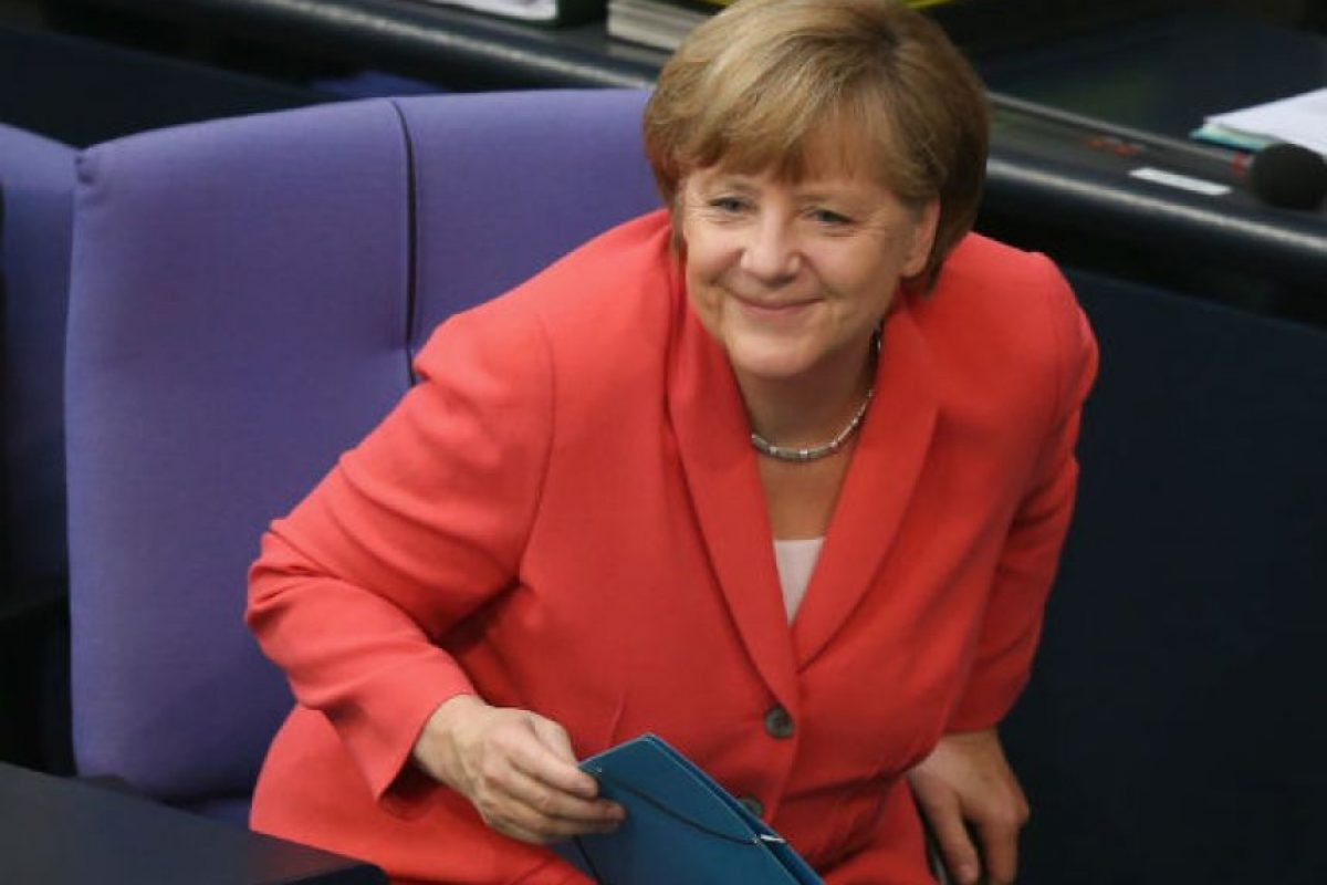 Angela Merkel. Política alemana que desempeña las funciones de canciller de su país desde 2005 Foto:Getty Images