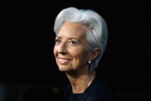 Christine Lagarde. Una abogada y política francesa, directora gerente del Fondo Monetario Internacional Foto:Getty Images