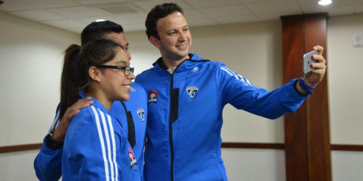 Ana Sofía Gómez, Erick Barrondo y Kevin Cordón forman parte del equipo Quaker