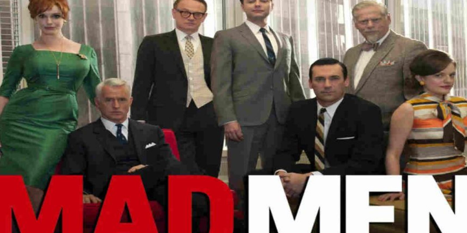 7.- Mad Men Foto: AMC