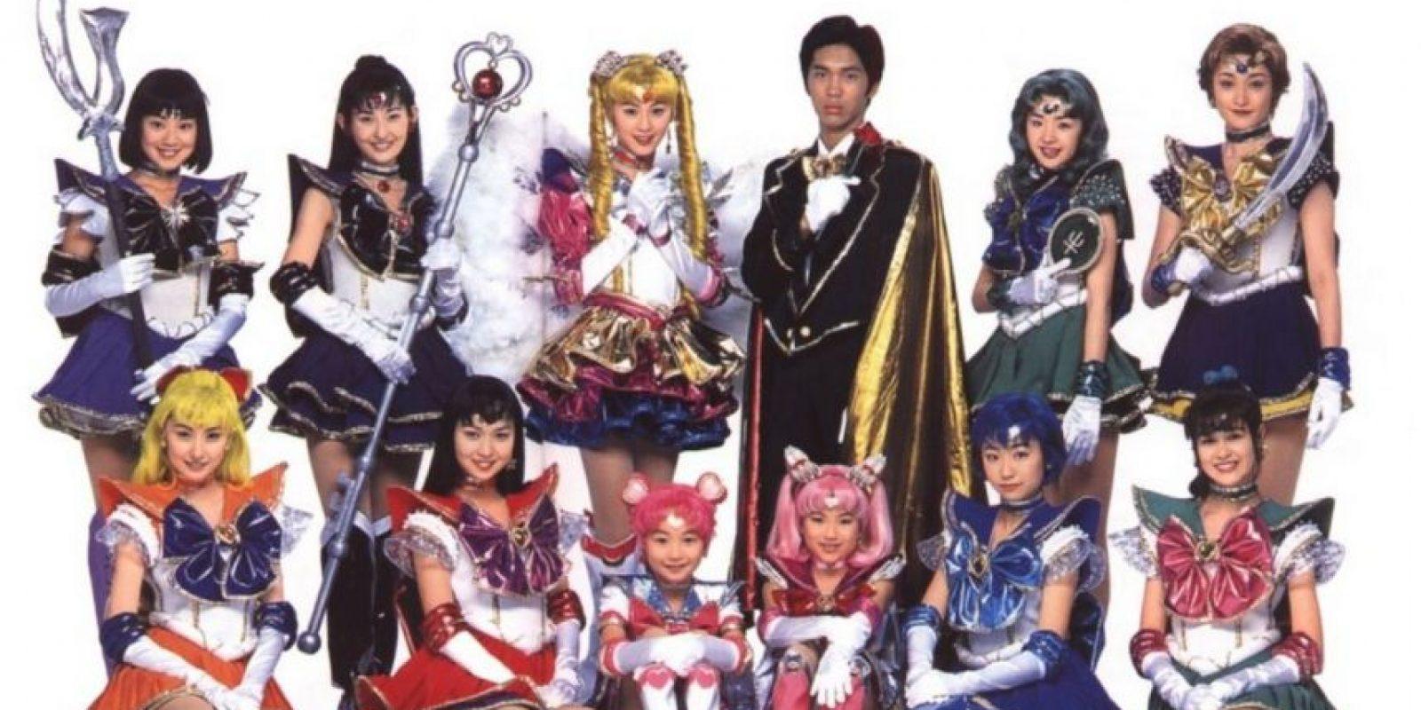 """De 2003 a 2004 existió la serie live action llamada """"Pretty Guardian Sailor Moon"""", que se transmitía en Japón en las mañanas. Foto:CBC"""