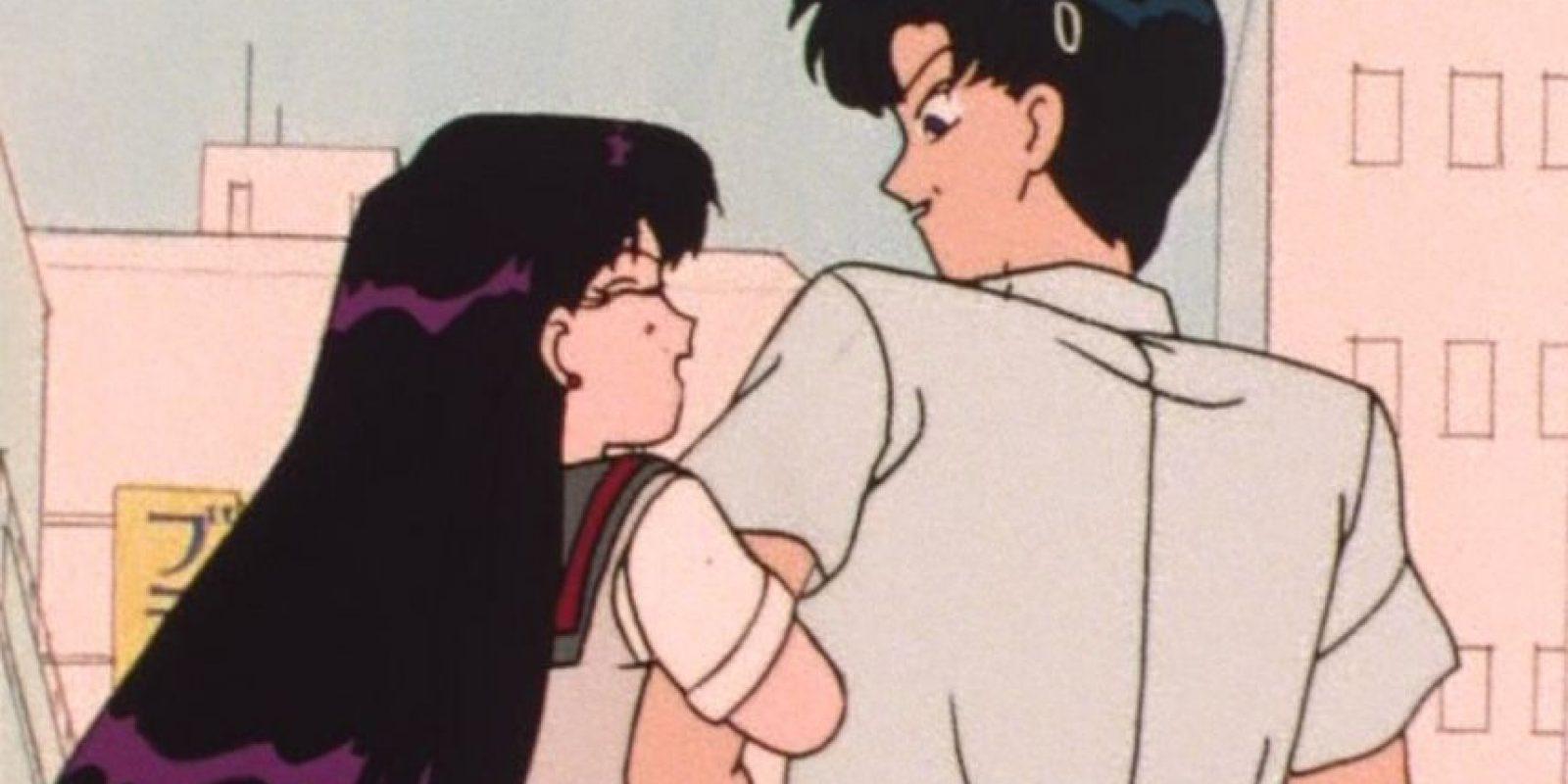 Rei sí fue novia de Darien antes de que este andara con Serena (Usagui) Foto:Toei