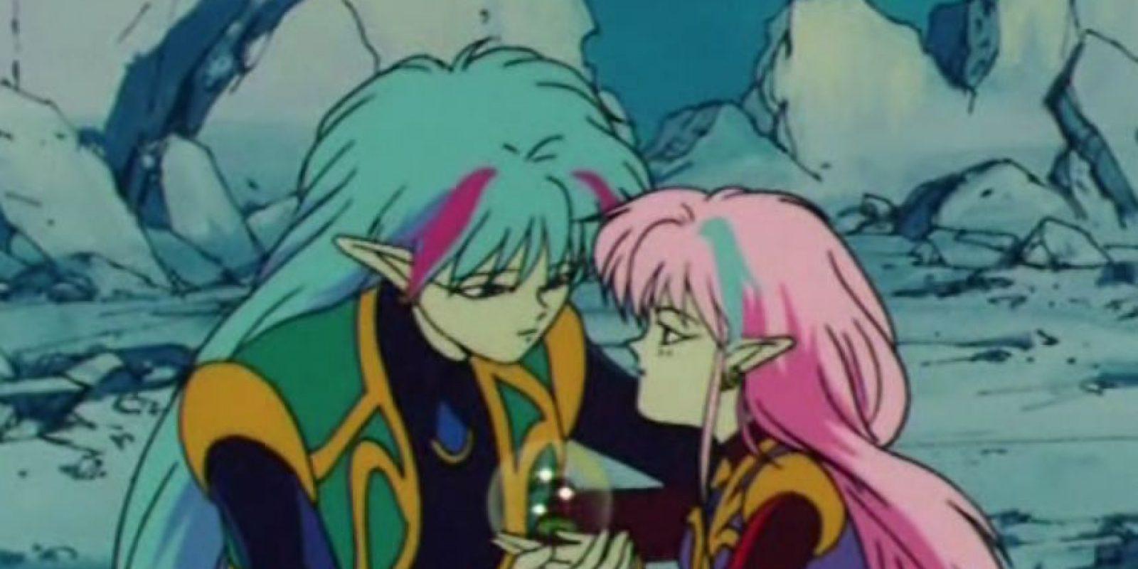 Alan y Ann no existieron en la versión manga. Foto:Toei