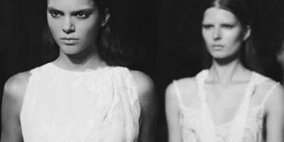 Kendall Jenner también tiene una doble. Foto:vía Instagram