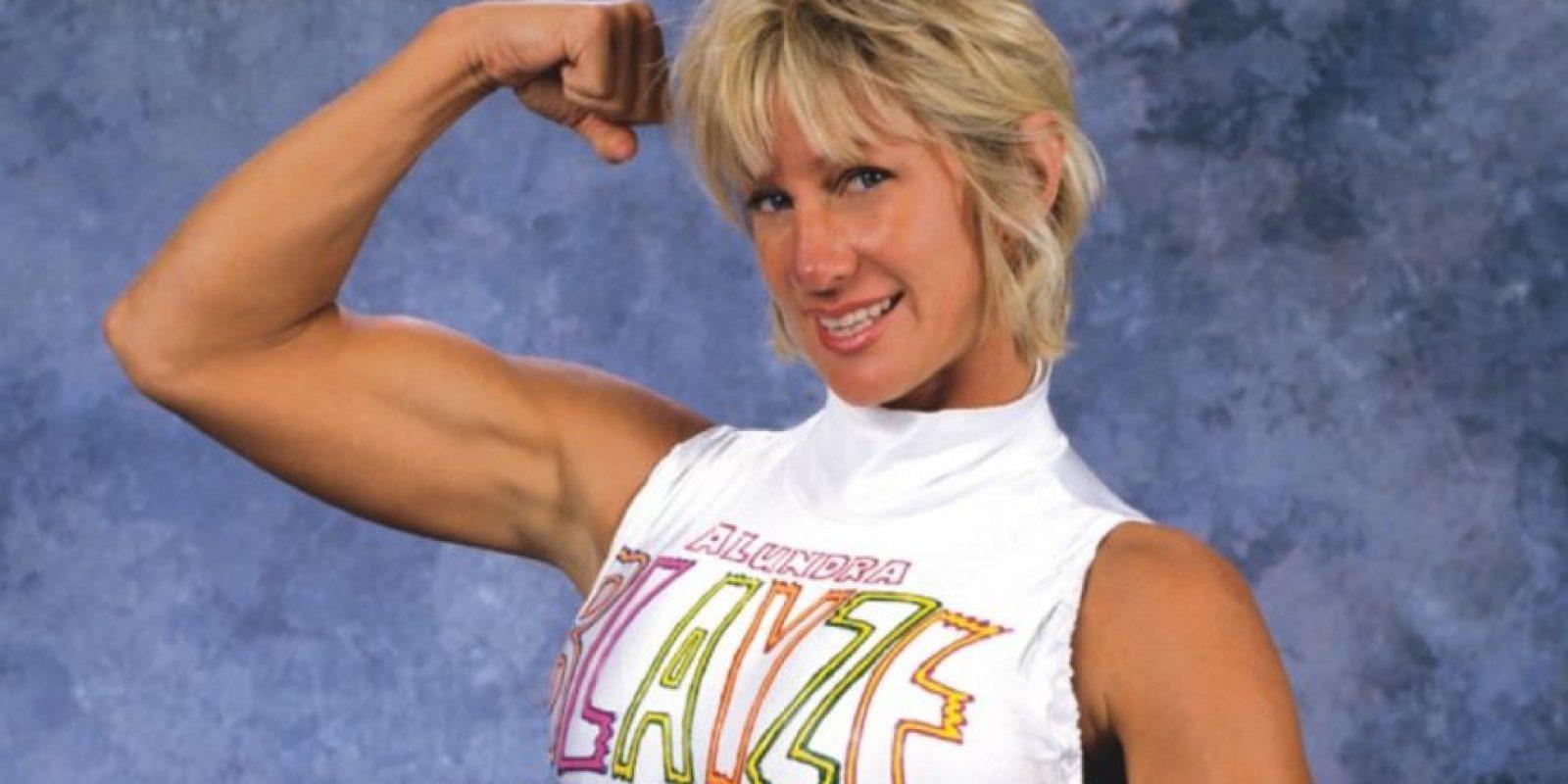 Ella llegó al Salón de la Fama en 2015 Foto:WWE
