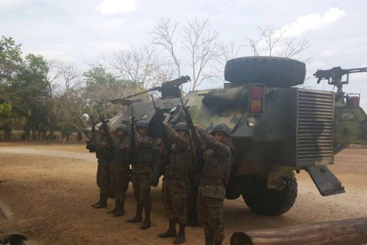 Foto:Ejército de Guatemala