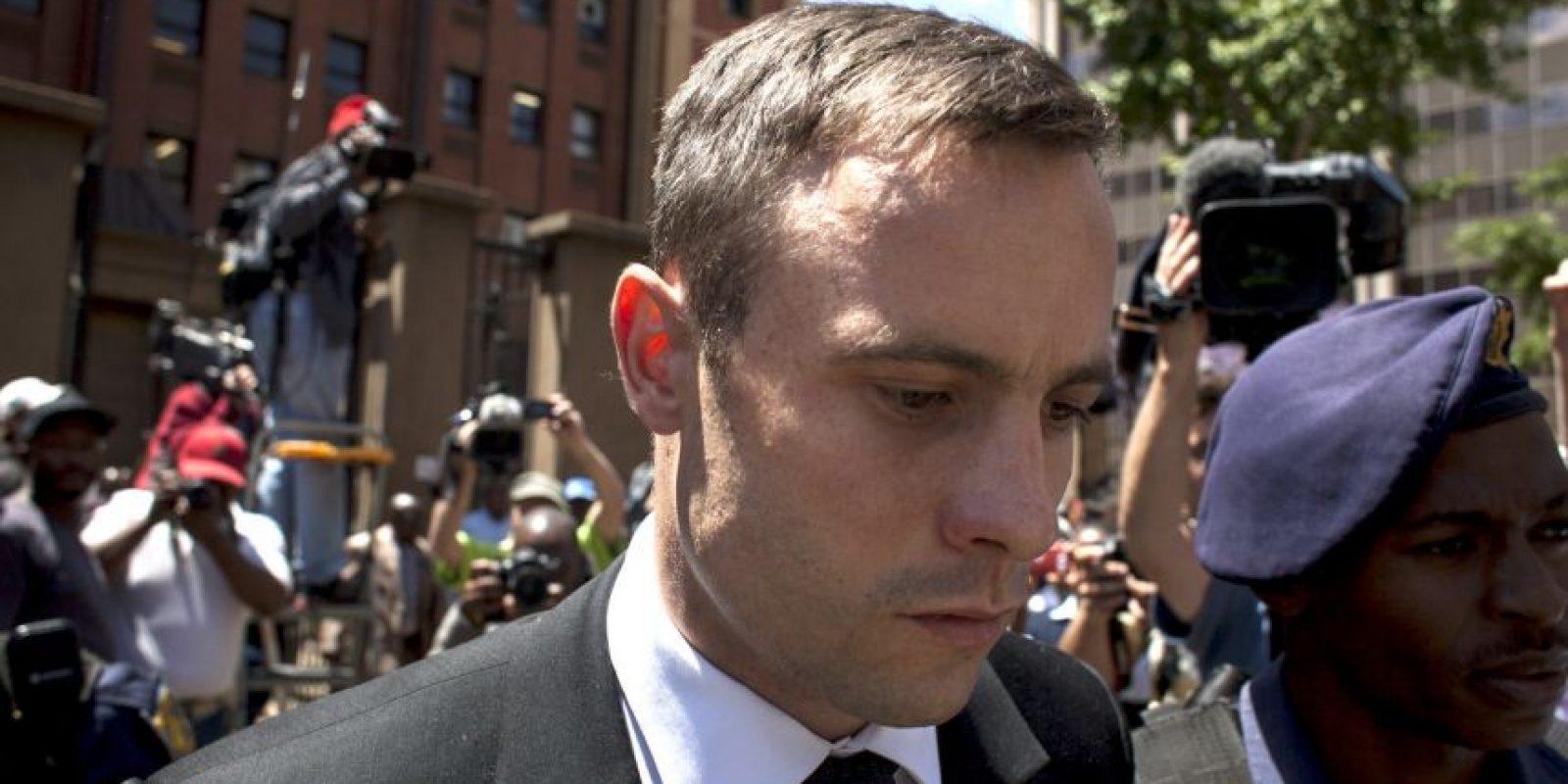 El atleta siempre declaró que disparó al creer que se trataba de un intruso Foto:Getty Images