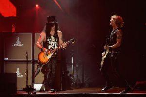 Es el bajista y segundo vocalista de la banda de hard rock Guns N' Roses Foto:Getty Images