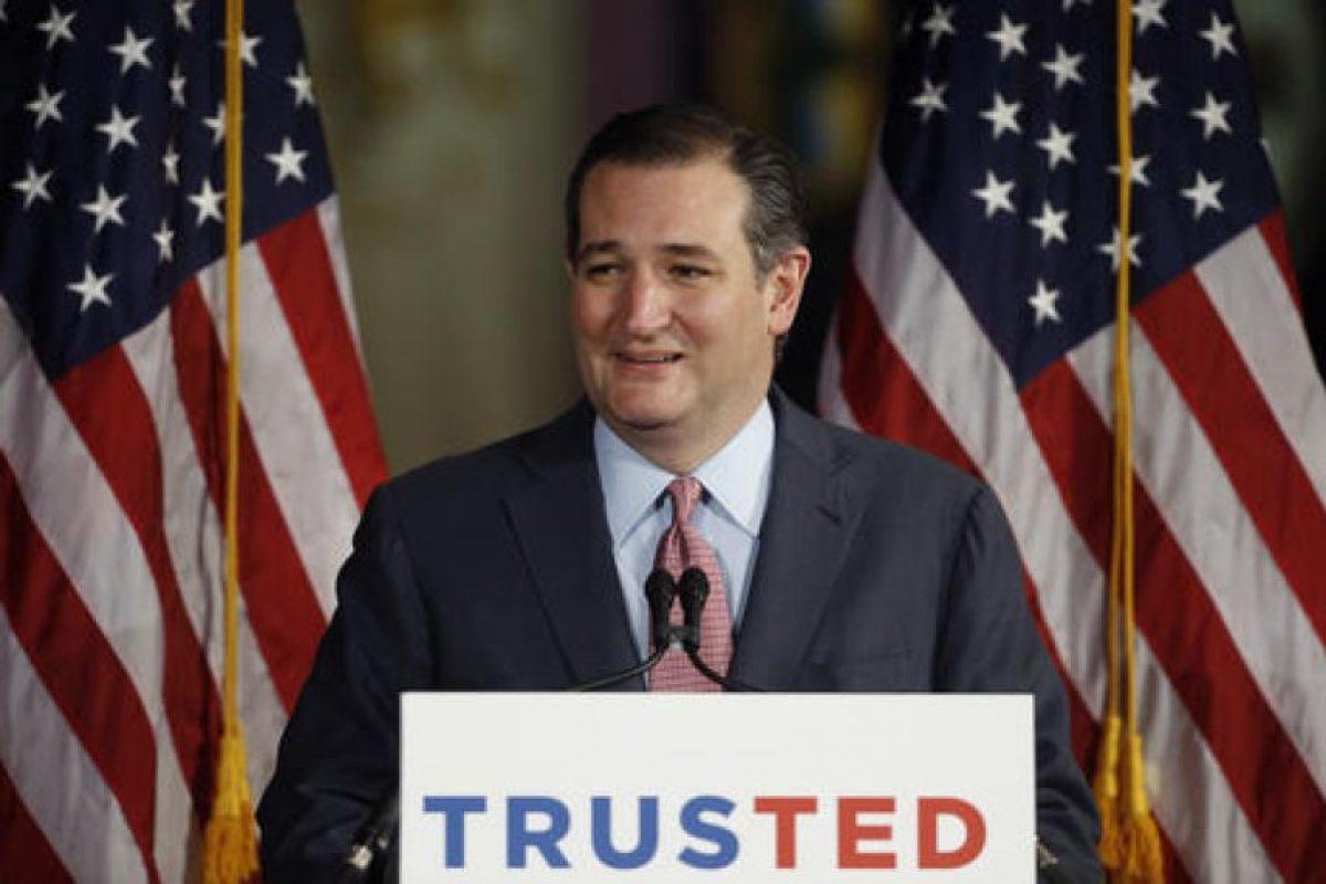 De origen cubano, es senador de Estados Unidos por Texas. Foto:AP