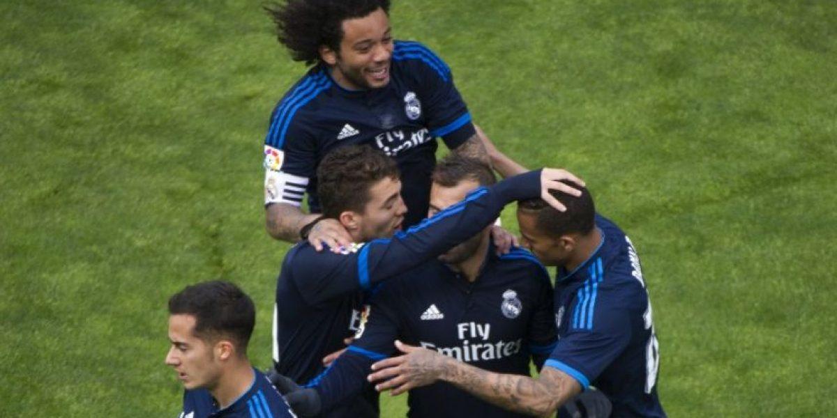 El Real Madrid gana 3-2 al Rayo y es líder provisional de la Liga