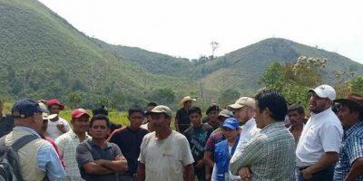 Diputados visitan zona de adyacencia y piden solución tensión con Belice