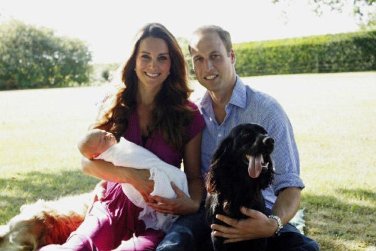 El pequeño príncipe nació 22 de julio de 2013. Foto:Getty Images