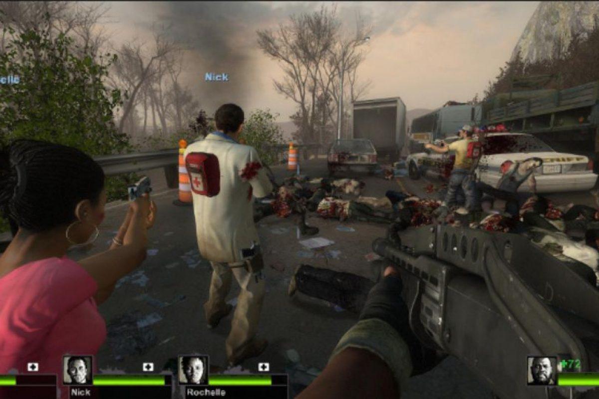 """IGN afirmó que """"captura casi a la perfección la tensión y la acción de una película zombi de Hollywood"""". Foto:Valve Software"""
