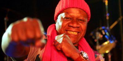 Colaboró con artistas como Peter Gabriel, Manu Dibango, Stevie Wonder, entre otros. Foto:Getty Images