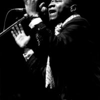 Papa Wemba fue un músico congolés de rumba africana. Nació el 14 de junio de 1949 en Lubefu, República del Congo. Foto:Getty Images
