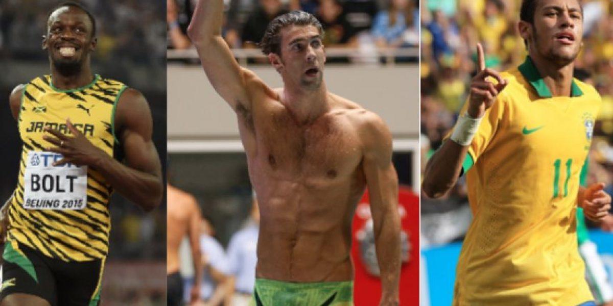 Bolt, Phelps y Neymar, las estrellas que todos quieren ver brillar en Rio
