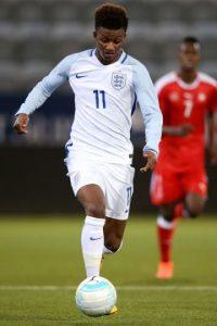 También ha sido seleccionado de Inglaterra en los equipos con límite de edad. Foto:Getty Images