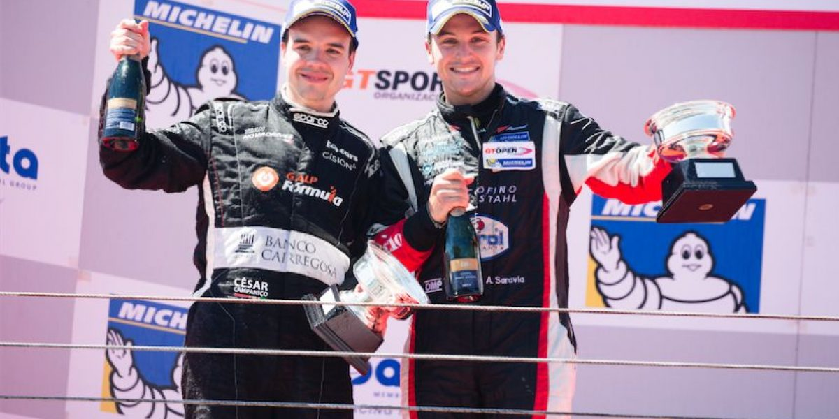 Guatemalteco Andrés Saravia en el International GT Open de Portugal