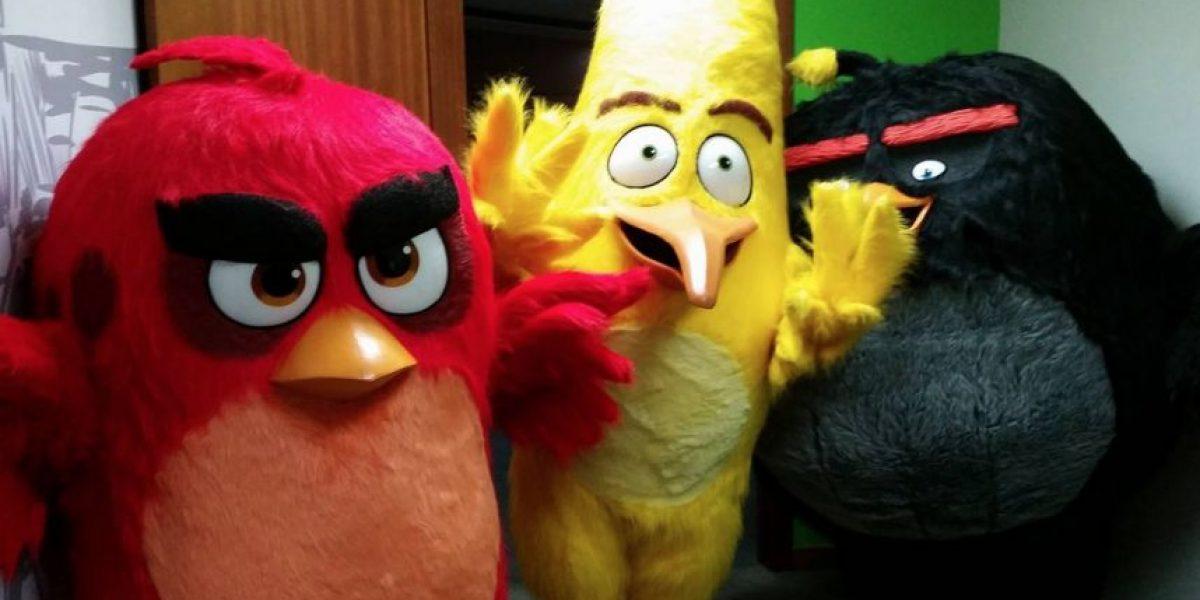 Los Angry Birds visitan Publinews