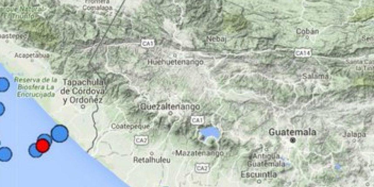 Durante la madrugada del lunes se registraron cuatro temblores