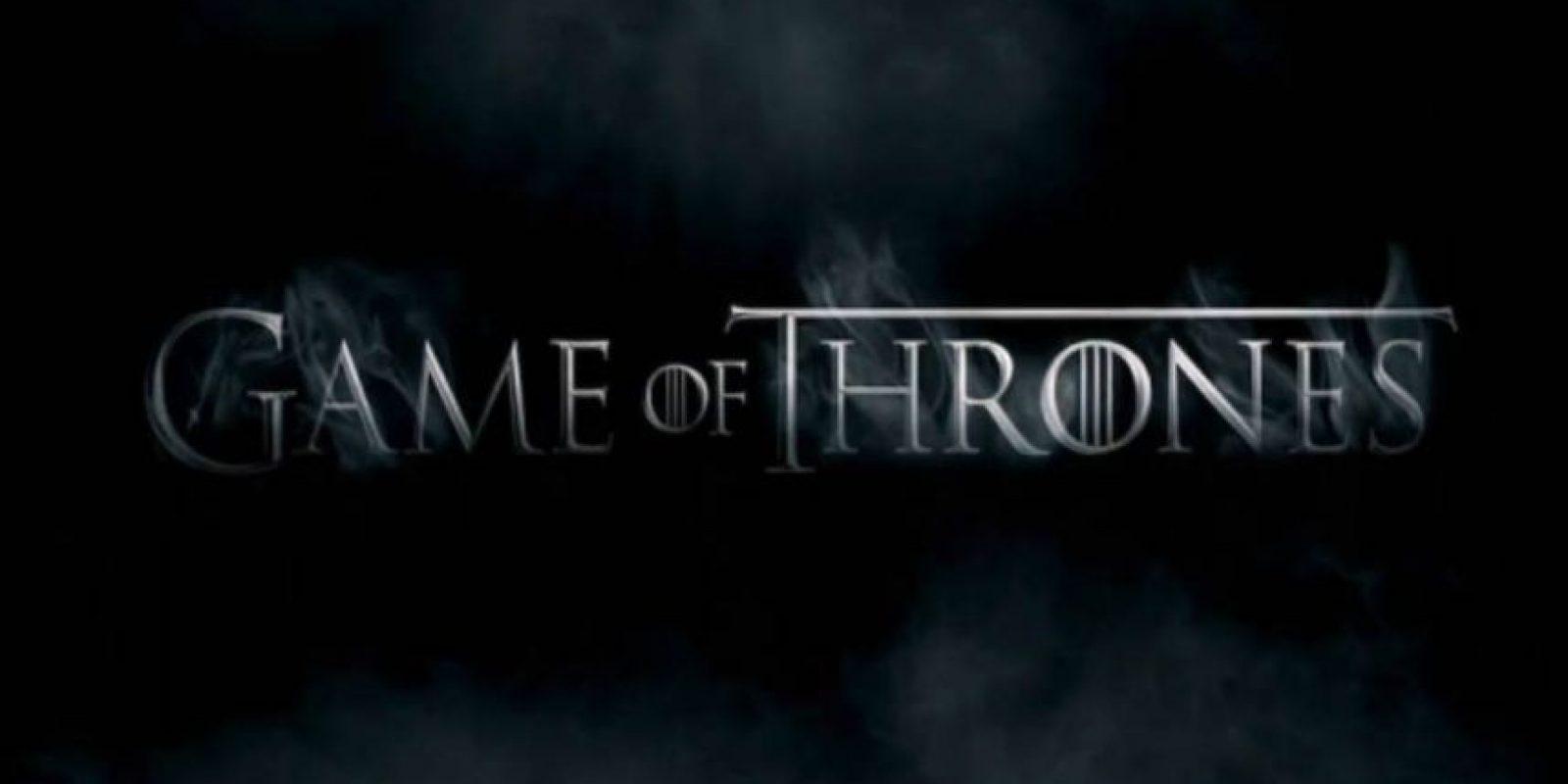 Game of Thrones es una serie original de HBO. Foto:HBO