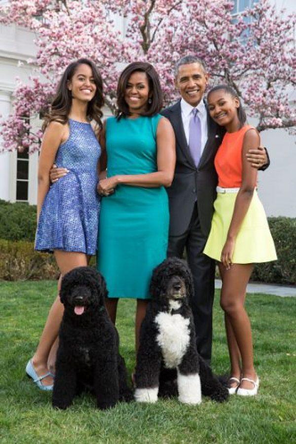 Así han cambiado las hijas de los Obama durante la presidencia Foto:Getty Images