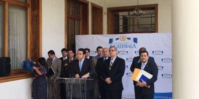 Morales asegura que a involucrados en Caso TCQ les caerá todo el peso de la ley