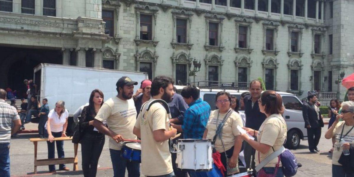 Esto expusieron en el manifiesto #25A en la Plaza de la Constitución