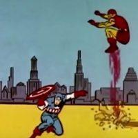 """1966: """"The Marvel Super Heroes"""" (serie de TV) Foto:Marvel Comics"""