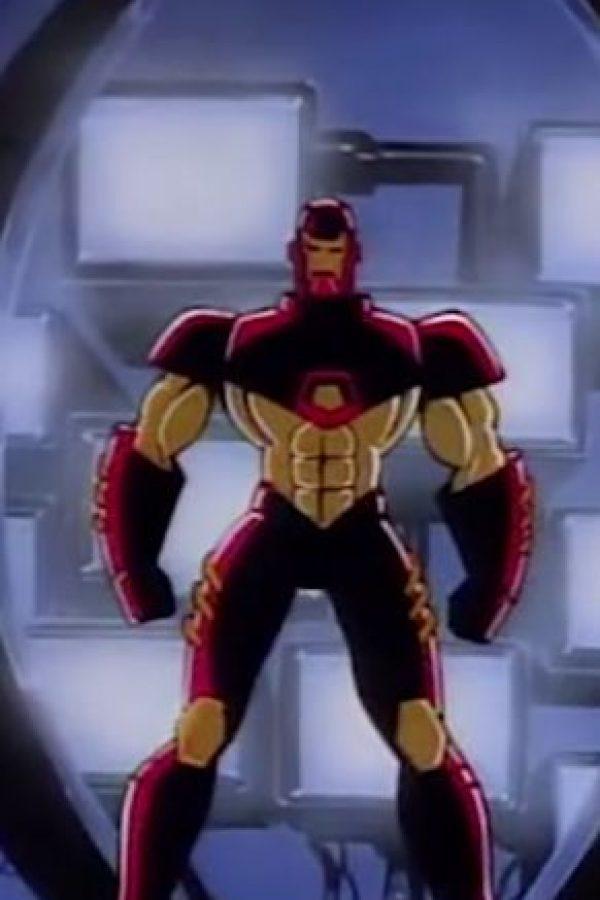 "1994: ""Iron Man"" (serie de TV) Foto:Marvel Comics"