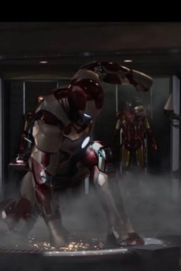"2013: ""Iron Man 3"" (cine) Foto:Marvel Comics"
