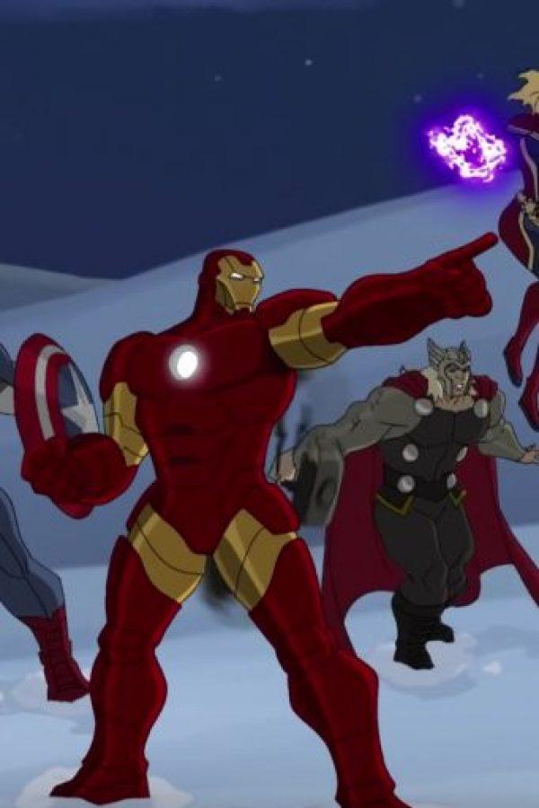"2015: ""Marvel Super Hero Adventures: Frost Fight"" (película) Foto:Marvel Comics"