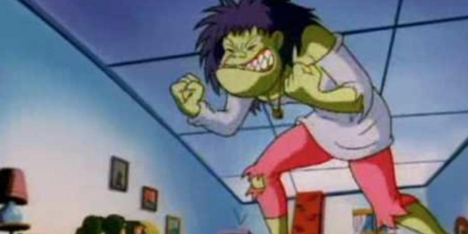 Kathy Ka Boom, la adolescente que se convertía en un monstruo por sus arranques de ira. Foto:vía Warner