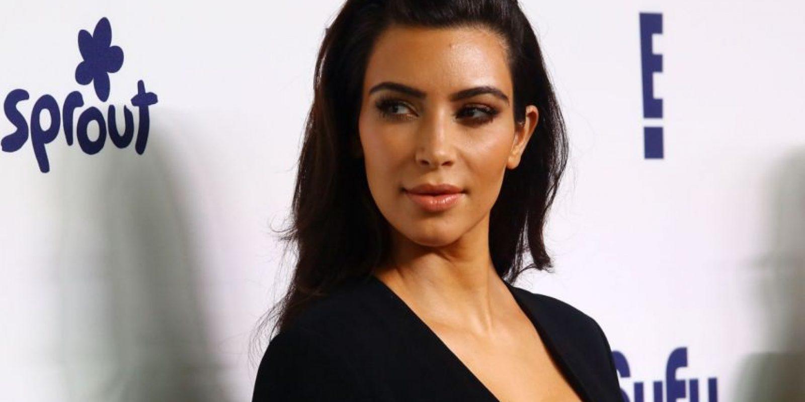 """Kim Kardashian es una de las """"bombas sexuales"""" más famosas del momento. Foto:vía Getty Images"""