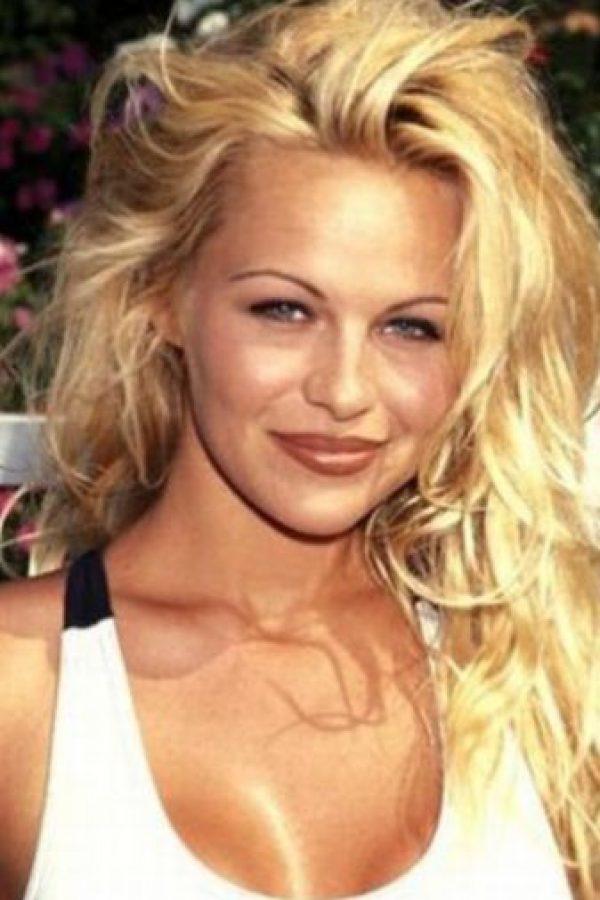 Pamela Anderson, en el apogeo de su naturalidad. Foto:vía Getty Images