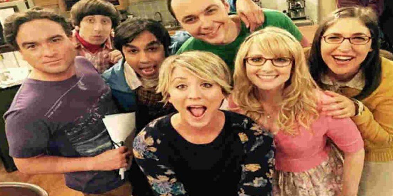 Con 4,4 millones de descargas ilegales. Foto:The Big Bang Theory