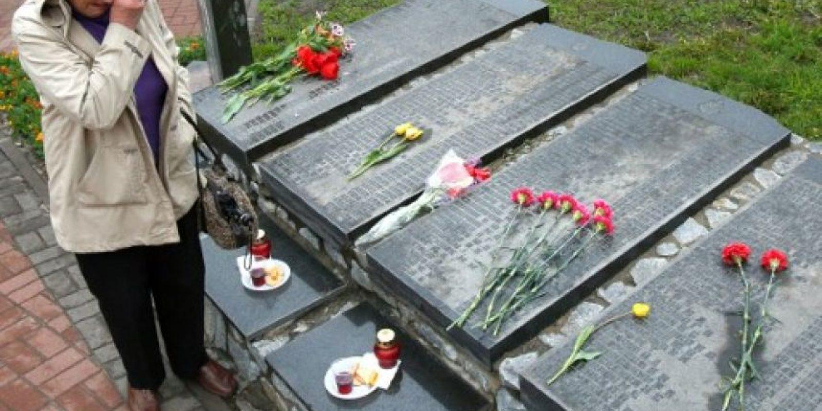 Rusia y Bielorrusia también conmemoraron a las víctimas. Foto:AFP