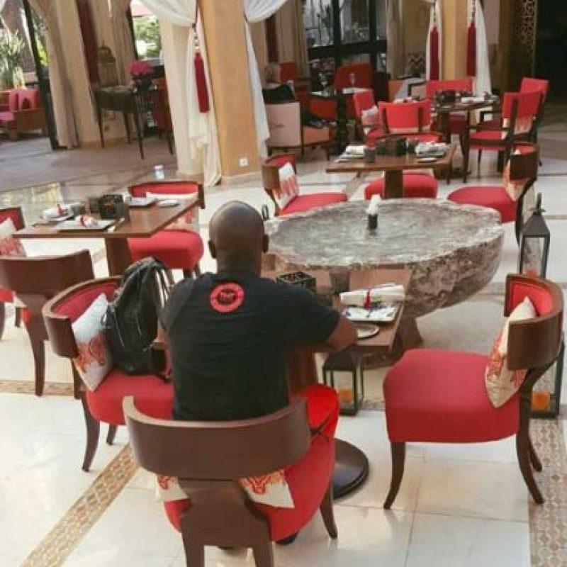 Y ahora, se encuentra conociendo Marruecos. Foto:Vía instagram.com/floydmayweather