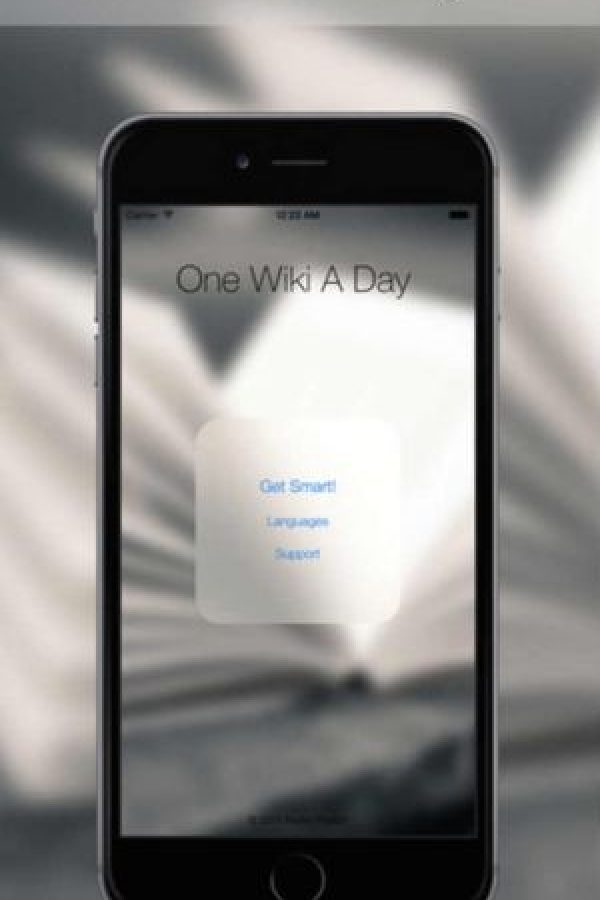 3.- One Wiki a Day Foto: App Store