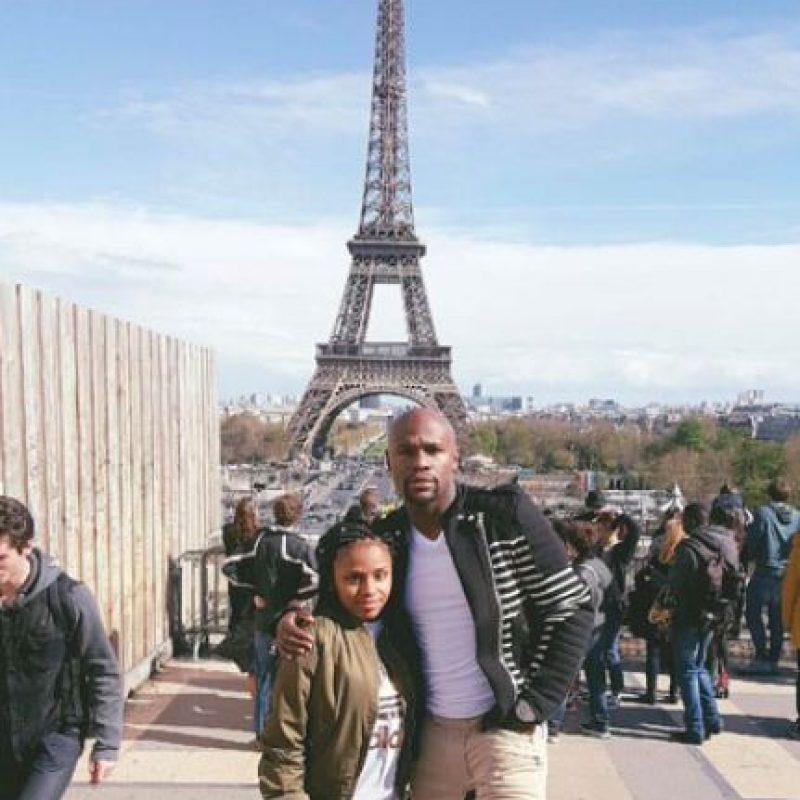 """A donde """"Money"""" viajó acompañado de su hija. Foto:Vía instagram.com/floydmayweather"""
