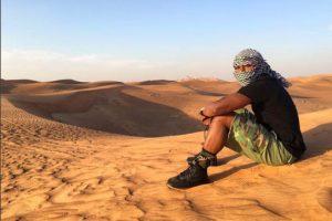 Luego visitó Dubai. Foto:Vía instagram.com/floydmayweather