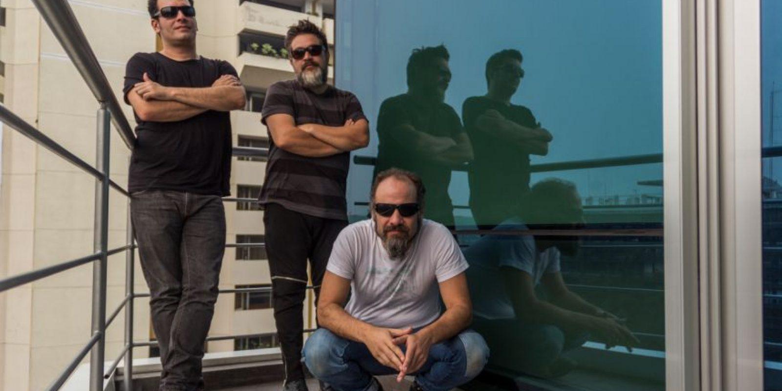Álvaro Rodríguez, Pepe Mollinedo y Juan Carlos Barrios Foto:Jorge Santos