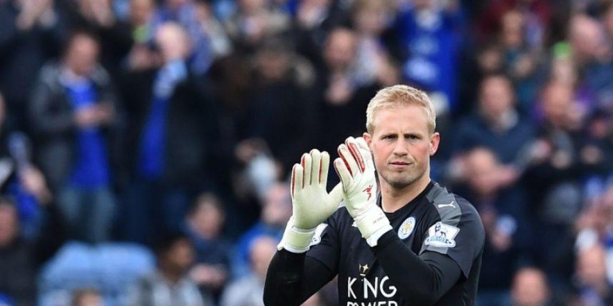 Kasper Schmeichel podría ganar la Premier League con el Leicester City en Old Trafford