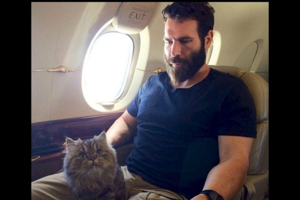 Dan Bilzerian y su avión Foto:instagram.com/danbilzerian/
