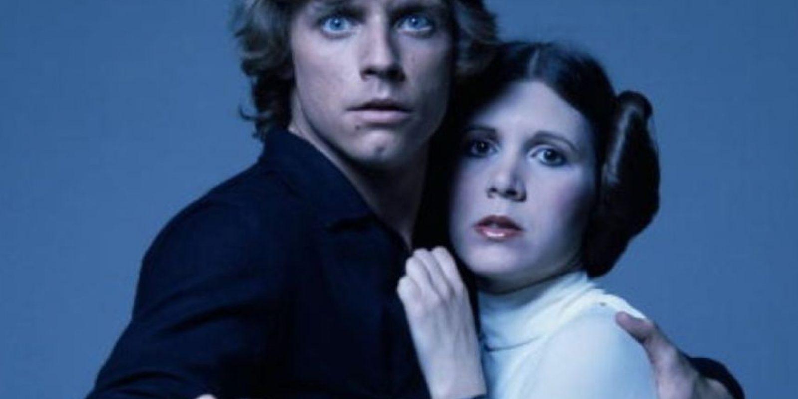 """Carrie Fisher, estrella de """"Star Wars"""", se llegó a casar por segunda vez con el agente Billy Lourd, con quien tuvo una hija. Foto:Getty Images"""