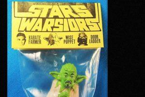 Yoda como viejo rapero. Foto:vía Tumblr/ Bootleg Action Figures