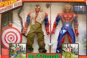 Spiderman en la granja. Foto:vía Tumblr/ Bootleg Action Figures